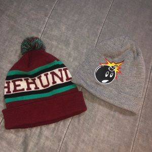 The Hundreds Beanies 2 for $15